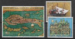VATICAN     -    1972 .    Y&T N°  536 à 541 * . Série Complète.  UNESCO  /  Sauvez Venise - Vatican