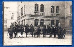 Carte Photo  --  Cavaliers  Allemands --  Endroit à Identifier - Guerre 1914-18