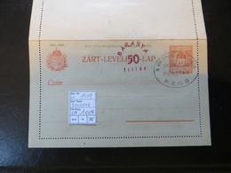 "1919  "" Schnittertyp ""  ZART-LEVELEZÖ-LAP In Karminrot,, + 10 Werte     LOT 1009 - Baranya"