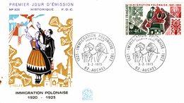 PREMIER JOUR D EMISSION IMMIGRATION POLONAISE 1920-1923 - Other