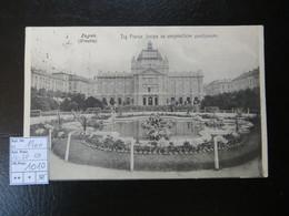 """1900  """" Zagreb """"   Karte Nach Wien, Mit Nr. 58   LOt 1010 - Ungarn"""
