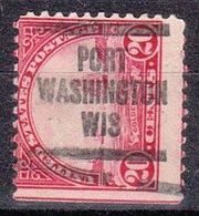 USA Precancel Vorausentwertung Preo, Locals Wisconsin, Port Washington 567-580 - Vereinigte Staaten