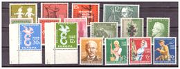 SAAR/SARRE - 1958 - ANNATA COMPLETA. -  MNH** - 1957-59 Federazione