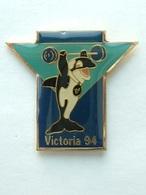 PIN'S HALTEROPHILIE - Commonwealth Games VICTORIA 94 - Haltérophilie