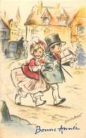 Illustrateur GERMAINE BOURET - Mignonette 11 X 7 Cm - Bonne Année 2 - Bouret, Germaine