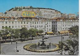 Portugal - Lisboa - Rossio Praça D. Pedro LV. - Lisboa