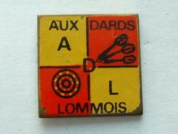PIN'S FLECHETTE - DARTS - AUX DARDS LOMMOIS - Badges