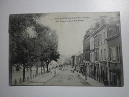 85 Fontenay Le Comte, Rue Turgot Et De La République (4739) - Fontenay Le Comte