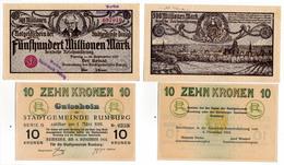 Allemagne // NOTGELD // Collection // LOT De 500 Billets - [11] Emissions Locales