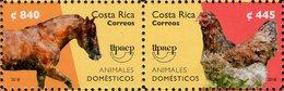 Costa Rica - 2018 - UPAEP - Domestic Animals - Mint Stamp Set - Costa Rica