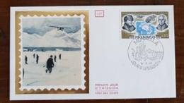 MONACO Theme Polaire. Yvert 911. 1er Survol Du Pôle Nord Par R.E. Byro & R. Amundsen - Monaco - 9.11.1976 - Polar Philately