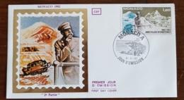MONACO Theme Polaire. Yvert 1355. Année Polaire Internationale - 8.11.1982 - Events & Commemorations
