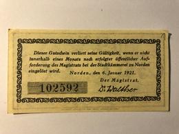 Allemagne Notgeld Norden 25 Pfennig - 1918-1933: Weimarer Republik