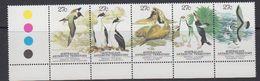 AAT 1983 Antarctic Wildlife Strip Of 5v  ** Mnh (41258A) - Ongebruikt