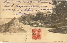 Post Card 1905 - MILWAUKEE - Whitefish Bay Resort - Barrett's Dept Store - Raphael Tuck & Sons' - Milwaukee