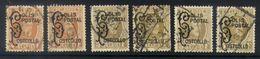 A08 - België - 1928 - Postpakketzegels Houyoux - OBP TR168/169 - Gebruikt Lot - 1923-1941