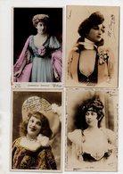 Lot De 16 CPA.Artistes Cabaret. Spectacle Theatre. - Entertainers