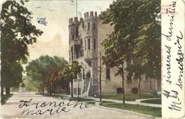 Post Card MILWAUKEE - Ivanhoe Temple - Milwaukee