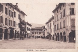 Cartolina : Gavardo Brescia  (Italie)  Piazza  Zanardelli  Ed    Ditta  Rara - Italia