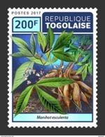 TOGO 2017 - Cassava (Manioc). Official Issue. - Food