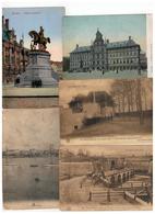 Antwerpen : 100 Oude Postkaarten (verzending Volgens Posttarief) - Postcards