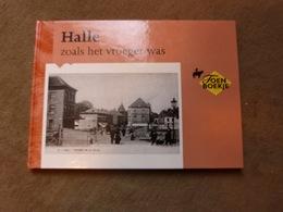 Livre   Halle Zoals Het Vroeger Was   Cartes Postales  Anciennes Hal In Oude Prentkaarten - Livres
