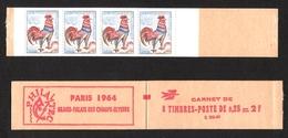 FRANCE 1962-65 COQ DE DECARIS CARNET YT N° 1331-C3a ** - 1962-65 Coq De Decaris
