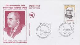 Enveloppe   FDC  1er   Jour   FRANCE   Lucien  BERTHELOT  2010 - 2010-....