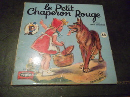 LIVRE DISQUE LE PETIT CHAPERON ROUGE - Kinderlieder