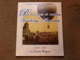 Livre  La Louvière Par Les Rues Et Ruelles De Houdeng-Aimeries - Livres