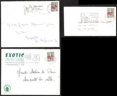 FRANCE 1962-65 COQ DE DECARIS YT N° 1331A 0,30 Sur Enveloppe - 1962-65 Cock Of Decaris