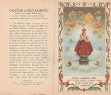 7785.   Santo Bambino Gesù Venerato In Arenzano - Vecchi Documenti