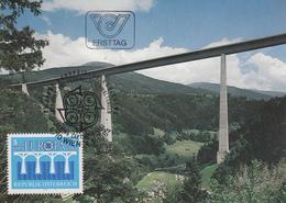 Carte  Maximum  1er  Jour   AUTRICHE    EUROPA    1984 - Europa-CEPT