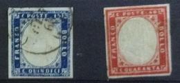 Italie N° 7 Et 8 De 1862 - 1861-78 Victor Emmanuel II