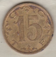 Suisse  Geneve Jeton 15 Rappen, CGTE Compagnie Genevoise Des Tramways Electriques - Monetary /of Necessity