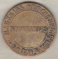 Jeton Grands Magasins Des Cordeliers De LYON - Nouveautes - Unclassified