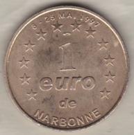 1 Euro De Narbonne Mai 1997 – Palais Des Archevêques Et Cathédrale - Euros Of The Cities
