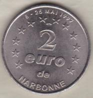 2 Euro De Narbonne Mai 1997 – Palais Des Archevêques Et Cathédrale - Euros Of The Cities