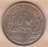 100 Francs Cochet 1958 - France