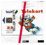 Norway - Telenor - Icehockey - N-006c - Sn.39984 - SC5, 1992, 4.000ex, NSB - Norvège