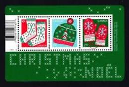 """2018 CANADA, CHRISTMAS:   SS With """"P"""", USA. International  Stamps  NEW ISSUE - Blocs-feuillets"""