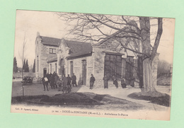 DOUE-LA-FONTAINE     (Maine Et Loire)     Ambualnce  Saint-Pierre, Animée  En 1915 - Doue La Fontaine