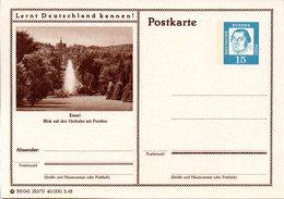 """BRD Bildpostk. Lernt Deutschland Kennen! """"Wz 15(Pf) Martin Luther, Blau, P81 315061 23/170 """"Kassel"""" Ungebraucht - [7] Federal Republic"""