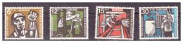 SAAR/SARRE -  1957 - BENEFICENZA. MINATORI. SERIE COMPLETA CON DIFETTI.  -  MNH** - 1957-59 Federazione