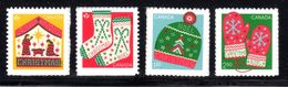 "CANADA 2018, CHRISTMAS  2 ""P"", USA, INTERNATIONAL RATES MNH - Carnets"