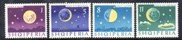 614/1500A - ALBANIA 1964 , Serie Yvert N. 694/697 (Michel 844/847) ***  MNH - Albania