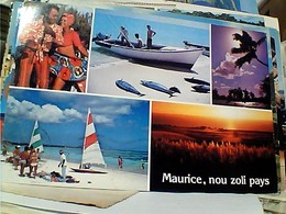 MAURITIUS ILE MAURICE VUES FISH TONNI  STAMP SELO TIMBRE 2 Rupees  RACE COURSE   GX5576 - Mauritius