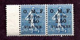 Syrie N°87a Tenant à Normal N** LUXE Cote 55 Euros !!!RARE - Syrie (1919-1945)