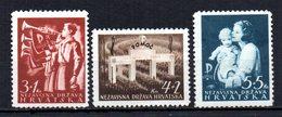 CROATIA 1942 MINT MH - Croatie