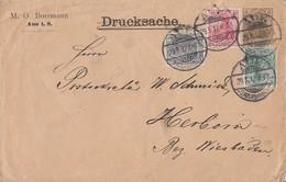 DR Privat-GS-Umschlag Minr.PU24 Zfr. Minr.83I,85I,86I Aue 29.3.12 - Briefe U. Dokumente